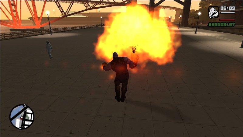 GTA San Andreas Thanos Mod Mod - GTAinside com