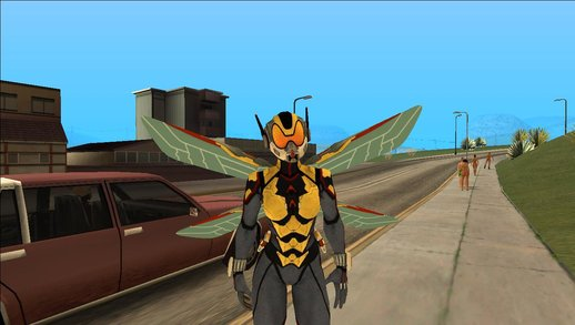Antman and Wasp from Marvel Strike Force