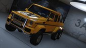 BRABUS 700 G63 AMG 6x6 (Add-on/Replace)