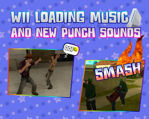 Wii Loading Music And New Punchs Sounds 1.1