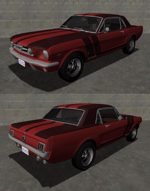 1965 Ford Mustang GT289 Counting Cars v1.0
