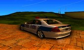 Mercedes Benz E500 Turkish Police Car San Fierro