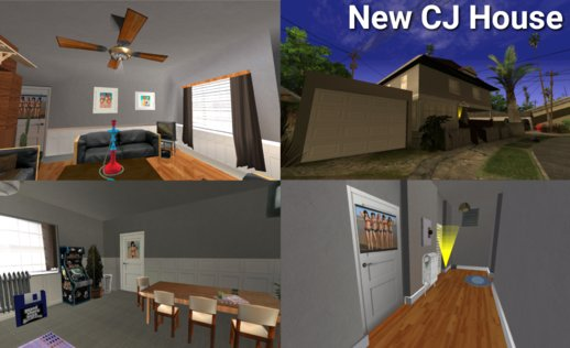 New CJ House Textures