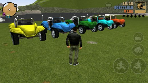 GTA 3 Car Colors For Android V.2