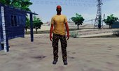 GTA Online Vic Vance Skin With Normal Map