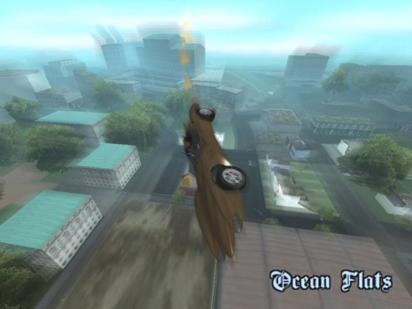 GTA San Andreas GTA V Declasse Scramjet / Mach 5 v2 Mod