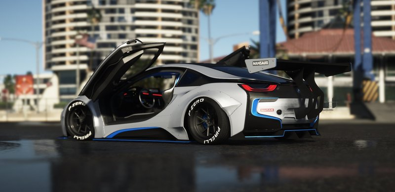 Gta 5 Bmw I8 Coupe Mansaug Replace Addon Template Mod