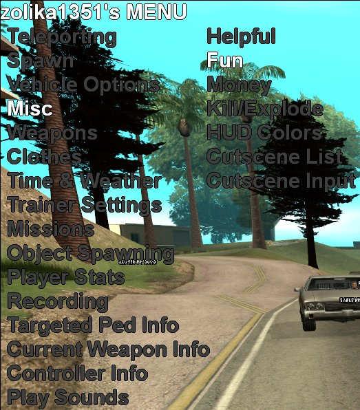 Gta V External Mod Menu