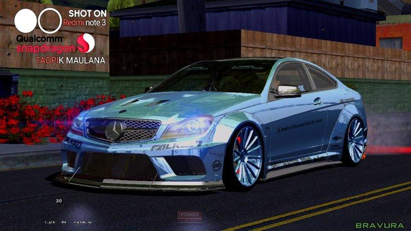 Mercedes C63 Amg 0 60 >> GTA San Andreas 2014 Mercedes Benz C63 AMG Coupe Black ...