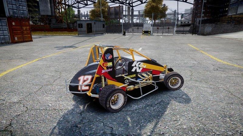 GTA 5 SPRINT CAR [FIVEM ONLY] Mod - GTAinside com