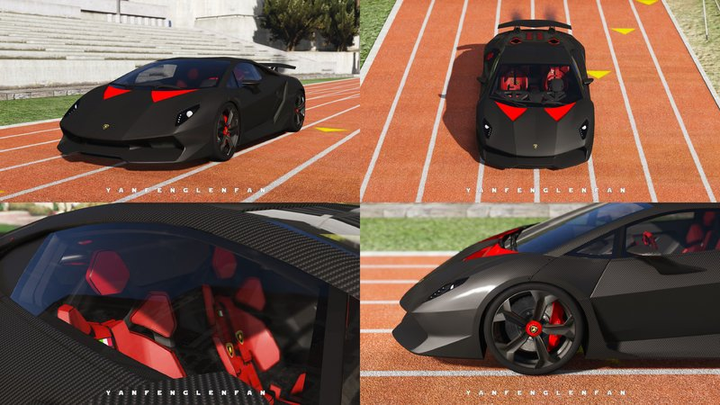 Gta 5 Lamborghini Sesto Elemento Add On Digital Gear Hq Mod