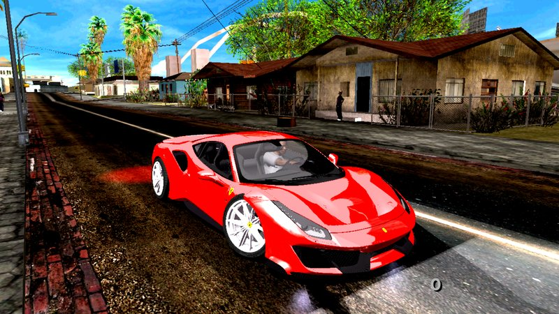 Gta San Andreas 2019 Ferrari 488 Pista Mod Gtainside Com