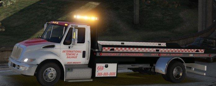 GTA 5 [ELS] [FiveM] International Durastar Flatbed Mod