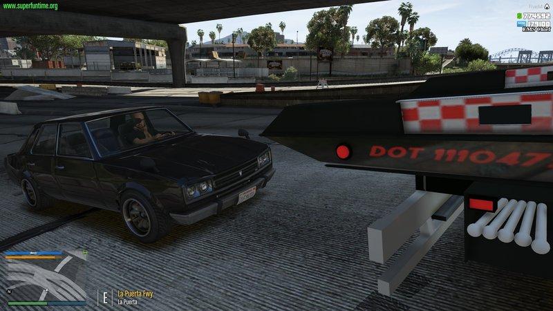 GTA 5 [ELS] [FiveM] International Durastar Flatbed Mod - GTAinside com