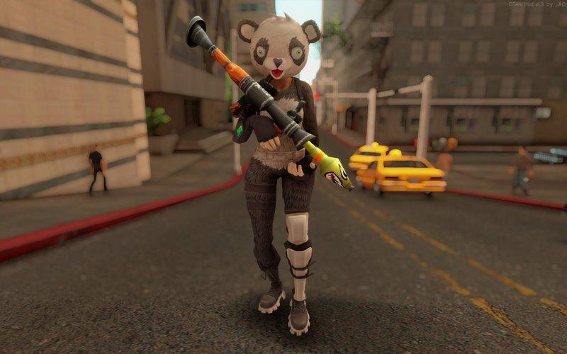 panda team leader fortnite