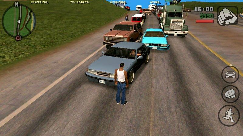 cheat lalulintas di GTA SA