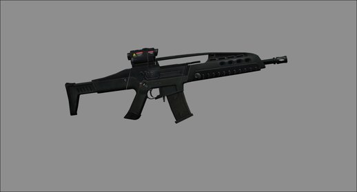 CSO2 XM8 Assault Rifle
