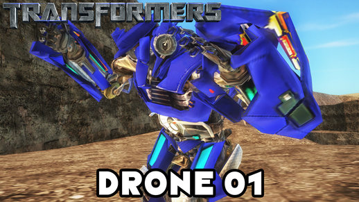Transformers 2007 Drone 01