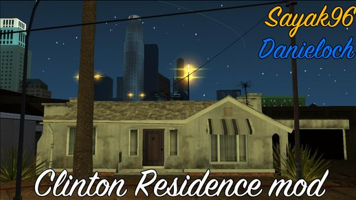 Clinton Residence (GTA V PC Textures)
