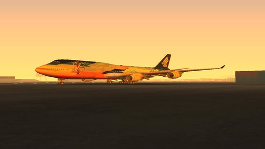 Boeing 747-400 Singapore Airlines (Tropical Megatop Livery)