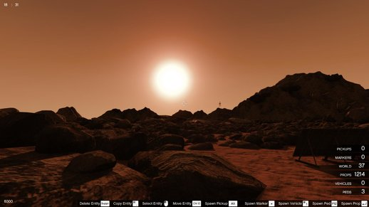 GTS Addon - Mars Exploration