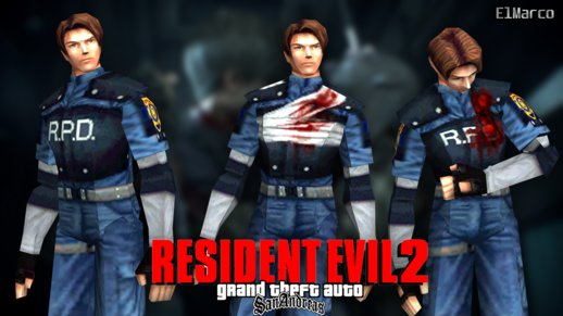 RE2 Leon Kennedy PSX Skin Pack