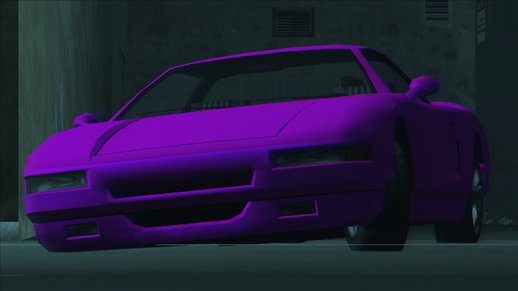 Pink Infernus in Intro