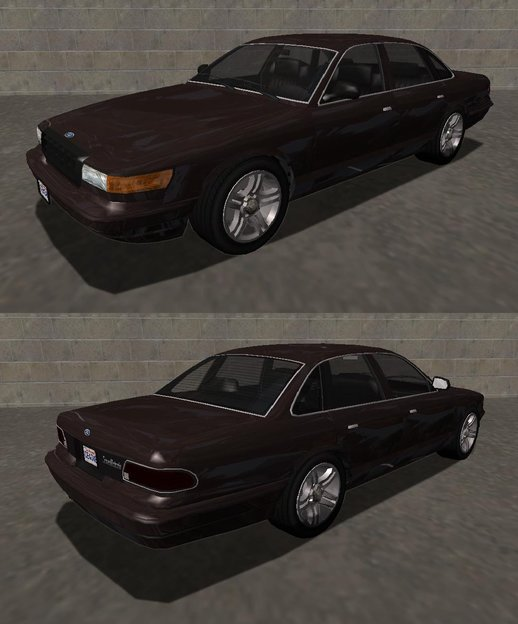 Ford Crown Victoria (Stanier style) 1992 & 2007 Pack v1.0