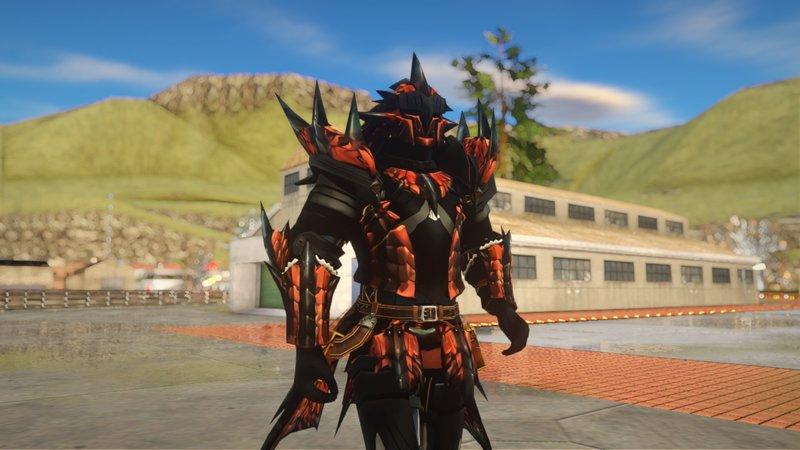 Gta San Andreas Rathalos Armor Monster Hunter Mod Gtainside Com