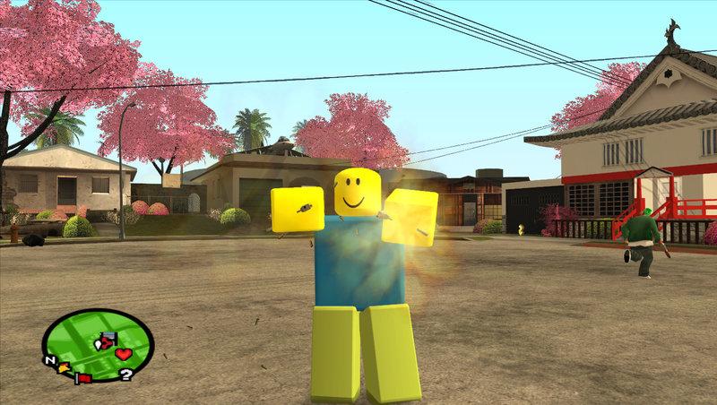 GTA San Andreas Roblox Default Character Mod - GTAinside com