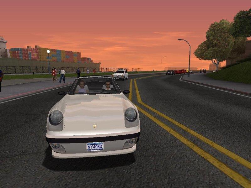 GTA San Andreas GTA V Graphics Ultra Realistic (Medium PC) v1 5