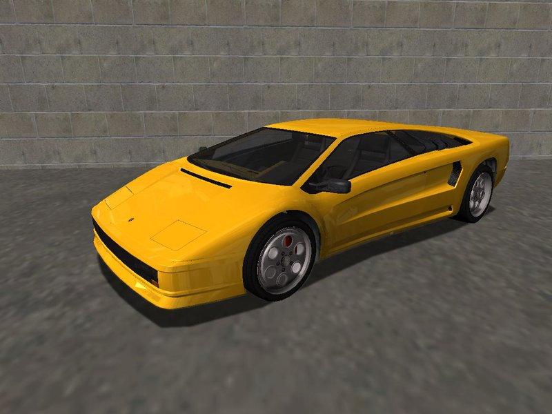 Gta San Andreas 1990 Lamborghini Diablo Vt 6 0 Infernus Style V1 0