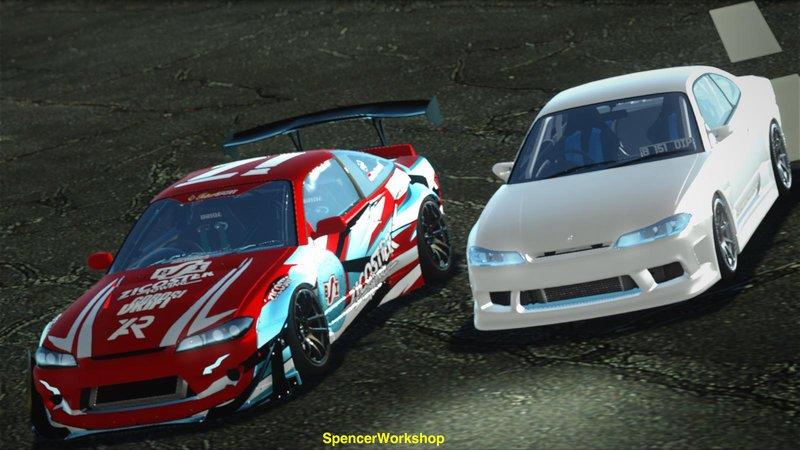 Gta San Andreas Nissan Silvia S15 Rocket Bunny Bsi Drift Team Mod Gtainside Com