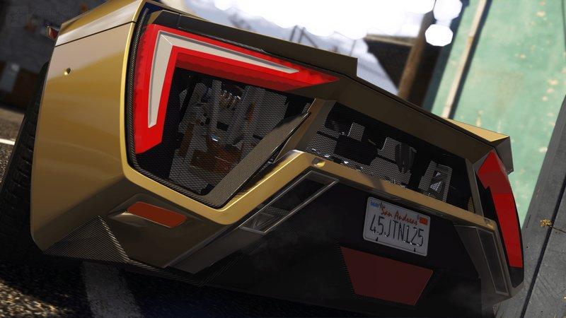 GTA 5 W-Motor Lykan HyperSport (Add-on/Replace/Digital Dials) Mod
