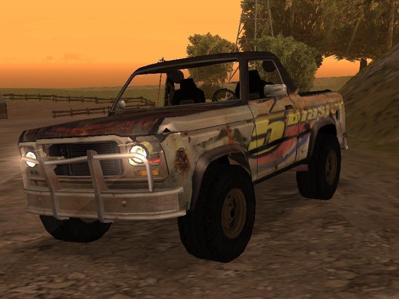GTA San Andreas Flatout 2 Blaster XL Mod - GTAinside com