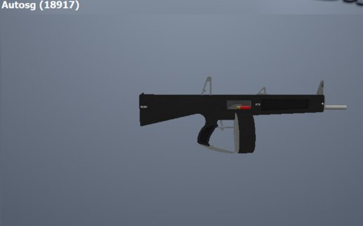 GTA 4 TBOGT Automatic Shotgun (Add-on)
