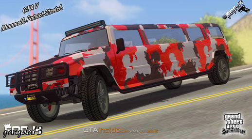 GTA V Mammoth Patriot Stretch