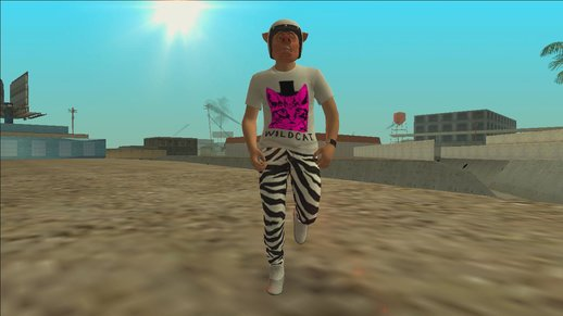 Wildcat Skin for GTA SA