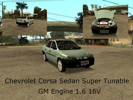 Chevrolet Corsa Sedan Tunable