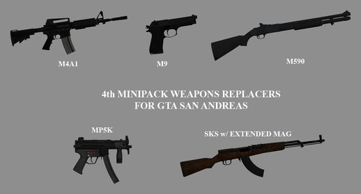 4th Minipack Weapon Replacers (Insurgency Edition)
