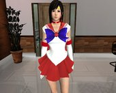 Kokoro [Sailor Mars] From DOA5LR