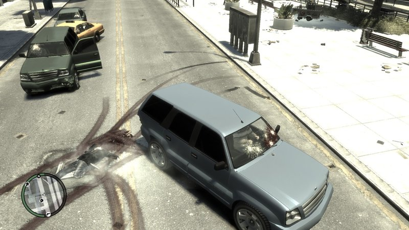 GTA 4 Bloody Mess Gore Mod Mod - GTAinside com