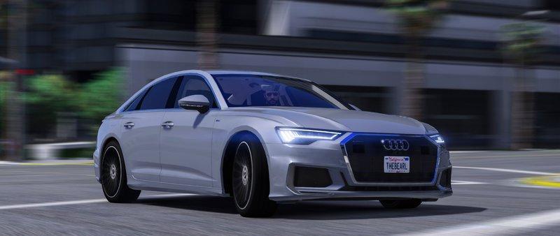 Gta 5 2019 Audi A6 55 Tfsi Quattro S Line Mod Gtainsidecom