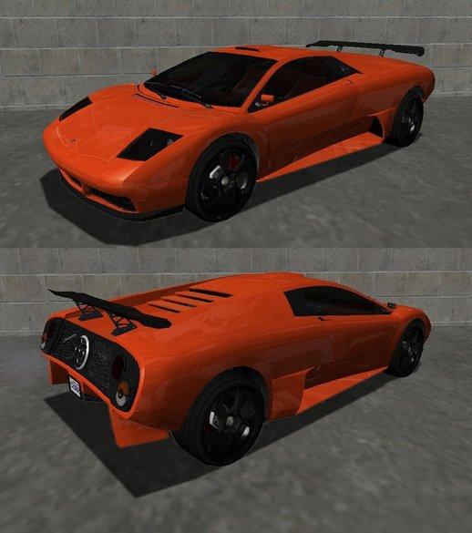 GTA San Andreas 2005 Lamborghini Murcielago LP640 Roadster