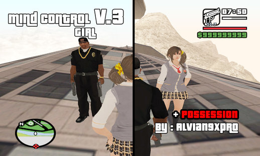 Mind Control Girl v3 (PC) ( Fixed ! )