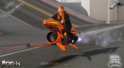 Gta San Andreas Gta V Oppressor Mk Ii Mod