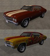 1970 Chevrolet Chevelle SS Normal and Burgershot Pack v1.0