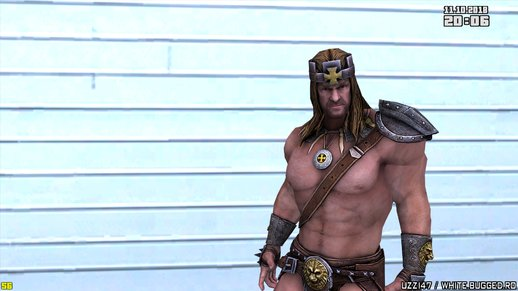 Triple H (King of Kings) from WWE Immortals