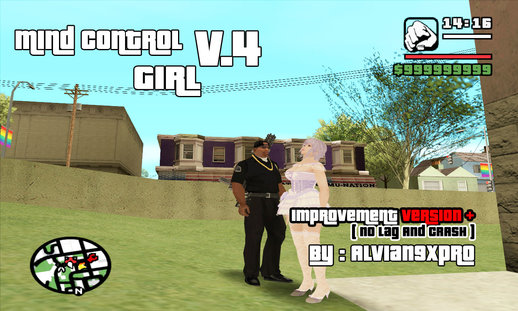 Mind Control Girl v.4 (PC) ( improvement version + ftx text )