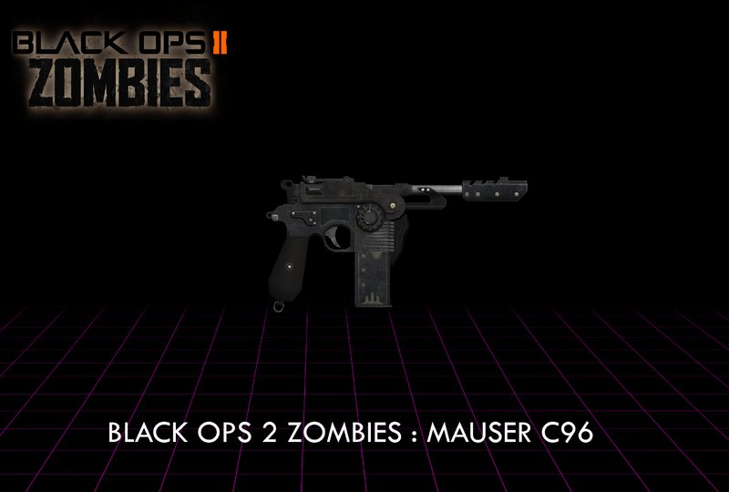 all guns in black ops 2 zombies